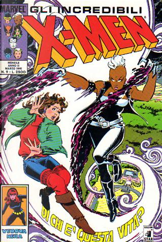 Gli Incredibili X-Men n. 009 by Ralph Macchio, Chris Claremont