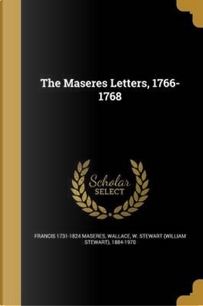 MASERES LETTERS 1766-1768 by Francis 1731-1824 Maseres
