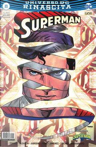 Superman #8 by Dan Jurgens, Gene Luen Yang, Patrick Gleason, Peter J. Tomasi