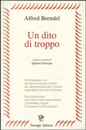 Un dito di troppo by Alfred Brendel