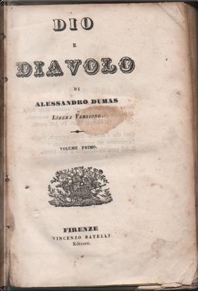 Dio e il diavolo - Vol. 1 by Alexandre Dumas