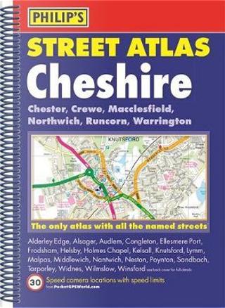 Philip's Street Atlas Cheshire by PHILIPS