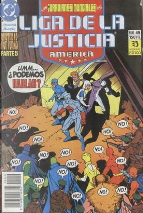 Liga de la Justicia América #49 by J. M. DeMatteis, Keith Giffen