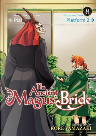 The Ancient Magus' Bride 8 by Kore Yamazaki