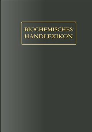 Biochemisches Handlexikon by Wolfgang Langenbeck