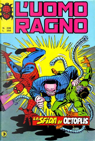 L'Uomo Ragno n. 208 by Marv Wolfman, Chris Claremont, Archie Goodwin, Len Wein