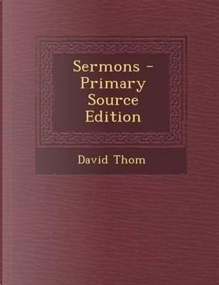 Sermons by David Thom