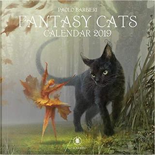 Fantasy Cats. Calendar 2019 by Paolo Barbieri
