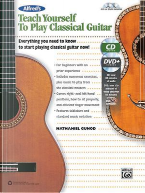 Alfred's Teach Yourself to Play Classical Guitar by Nathaniel Gunod
