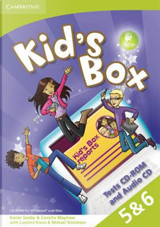 Kid's Box American English Levels 5–6 Tests CD-ROM and Audio CD by Karen Saxby