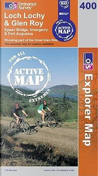 Loch Lochy and Len Roy (OS Explorer Map Active) by Ordnance Survey