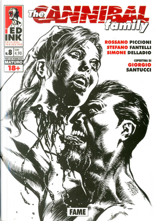 The Cannibal Family n. 8 by Rossano Piccioni, Stefano Fantelli