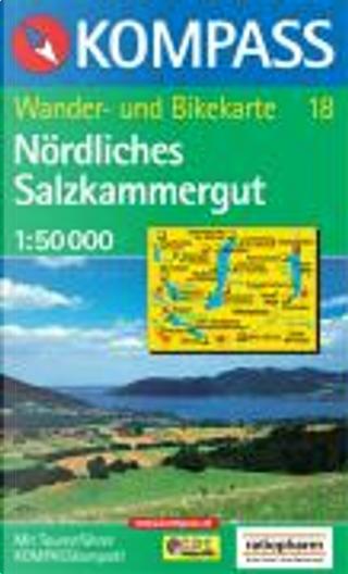 18: Nordliches Salzkammergut 1:50, 000 by Kompass-Karten GmbH