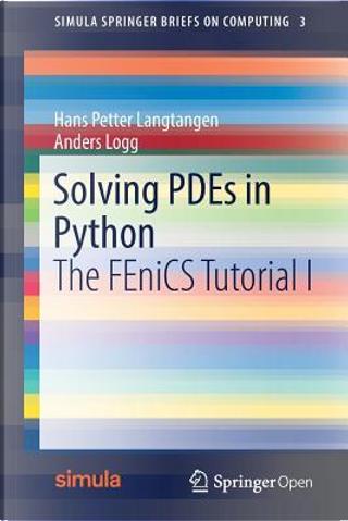 Solving Pdes in Python by Hans Petter Langtangen