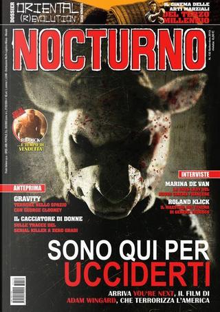 Nocturno cinema n. 132 by Chiara Pani, Corrado Farina, Emanuele Sacchi, Francesco Barilli, Manlio Gomarasca, Michele Giordano, Ruggero Deodato