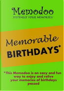 Memodoo Memorable Birthdays by Memodoo