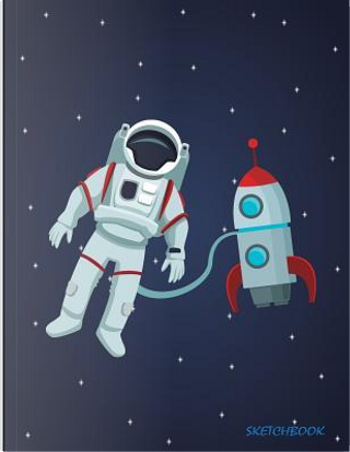 Color Astronaut Rocket Sketchbook by Hannah Green