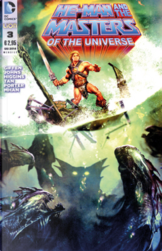 He-Man and the Masters of the Universe #3 by Geoff Jones, Keith Giffen, Kyle Higgins