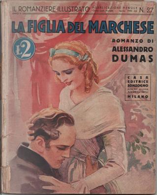 La figlia del marchese by Alexandre Dumas