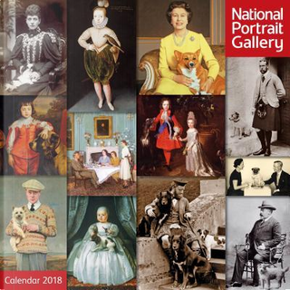 National Portrait Gallery - Royalty and Their Pets 2018 Calendar by Flame Tree Studios