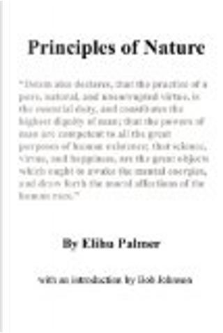 Principle of Nature by Elihu Palmer