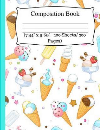 Composition Book by Jaz Kiddies Books