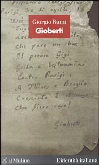 Gioberti by Giorgio Rumi