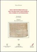 Documenti processuali del secolo XII a Nonantola fra storia e letteratura by Silvia Stefani