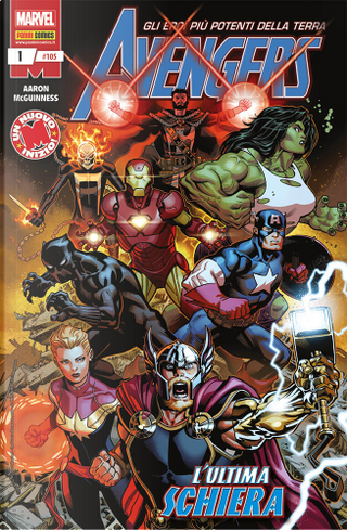 Avengers n. 105 by Ed McGuinness, Jason Aaron