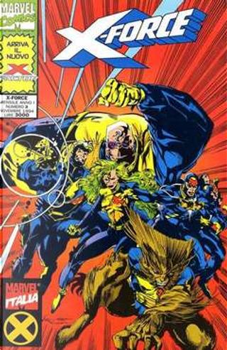 X-Force n. 3 by Fabian Nicieza, Peter David, Rob Liefeld