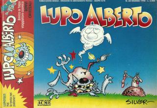 Lupo Alberto n. 60 by Bonvi, Giacomo Michelon, Massimo Cavezzali, Silver