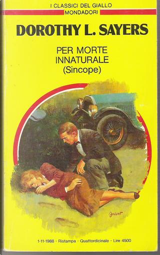 Per morte innaturale (Sincope) by Dorothy L. Sayers