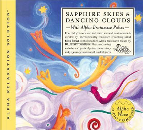 Sapphire Skies & Dancing Clouds by Mick Rossi