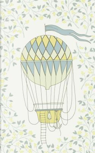 Lemon Hot Air Balloon & Basket - Lined Notebook with Margins - 5x8 by Legacy