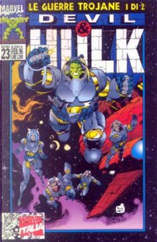 Devil & Hulk n. 023 by D.G. Chichester, Peter David