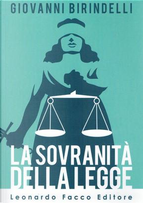 La sovranità della legge by Giovanni Birindelli