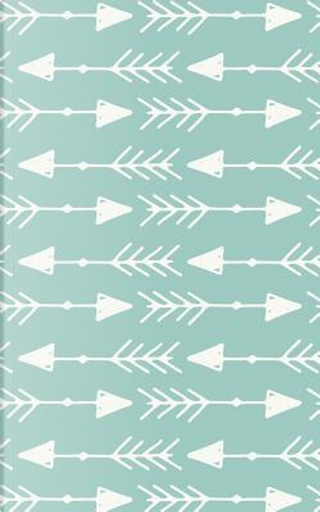 Sea Green Arrowhead Arrows - Lined Notebook with Margins - 5x8 by Legacy