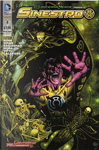 Lanterna Verde presenta: Sinestro n. 4 by Charles Soule, Cullen Bunn