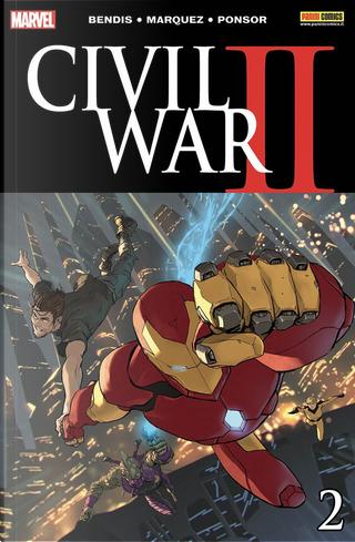 Civil War II #2 by Brandon Easton, Brandon Thomas, Brian Michael Bendis