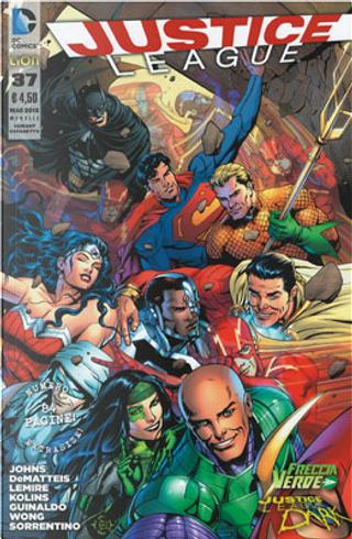 Justice League n. 37 - Variant by Geoff Jones, J. M. DeMatteis, Jeff Lemire