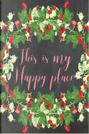 This Is My Happy Place Pale Pink Chalkboard Journal by Marissa Kent