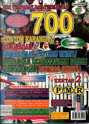 700 Contoh Karangan PMR by Sharar Bin MAd Jisin, Mas Anom Binti Musdar, Izarudin Bin Izhar