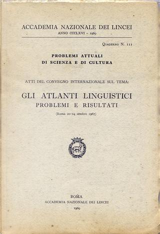 Gli atlanti linguistici Problemi e risultati by Gerhard Rohlfs, Giacomo Devoto, Giuliano Bonfante, Georges Redard