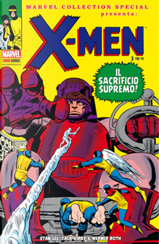 X-Men n. 3 (di 4) by Stan Lee, Roy Thomas