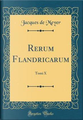 Rerum Flandricarum by Jacques de Meyer