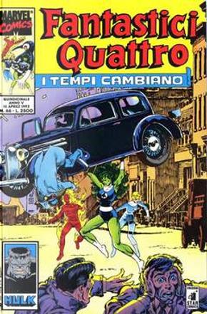 Fantastici Quattro n. 66 by John Byrne, Peter David