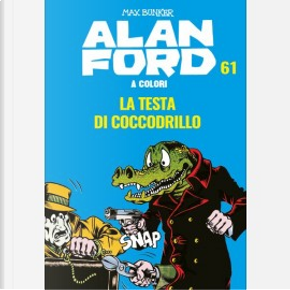 Alan Ford a Colori n. 61 by Max Bunker