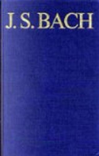 Thematisch-systematisches Verzeichnis der musikalischen Werke Johann Sebastian Bachs by