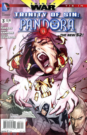 Trinity of Sin: Pandora Vol.1 #3 by Ray Fawkes