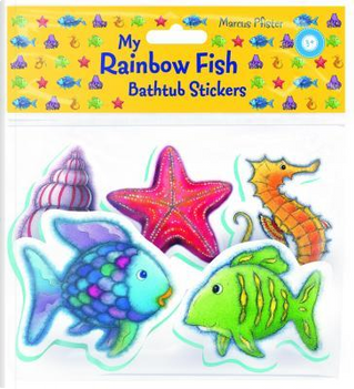 My Rainbow Fish Bathtub Stickers by Marcus Pfister